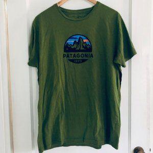 Patagonia Men's Fitz Roy Scope Tee Shirt-Size XL